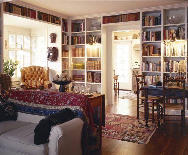 Books above door home decorating trends