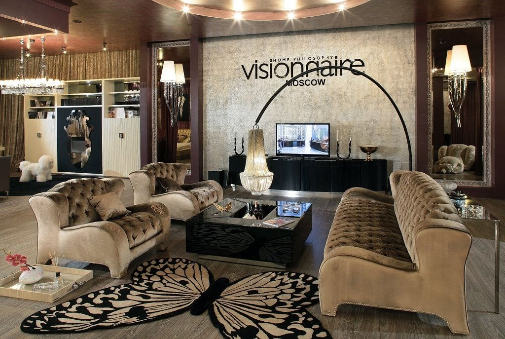Visionnaire Moscow Showroom
