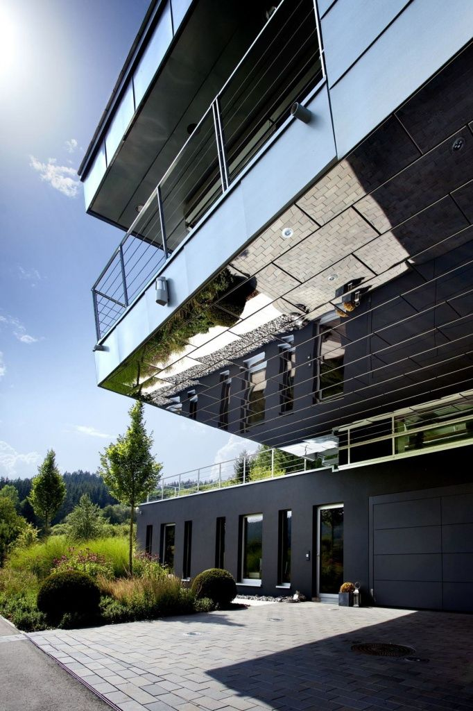 reflective home cladding